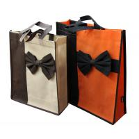 Buy cheap 80gsm non woven fabric Non Woven Carry Bag Splicing matching fashionale colorful from wholesalers
