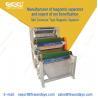 China 4 - 10T 3 Layer Magnetic Roll Separator , Metal Separation Equipment 1.5KW Feldspar sand Quartz wholesale