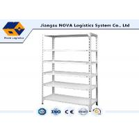 China Cold Rolled Steel Commercial Shelving , Boltless Steel Shelving With High Density Board wholesale