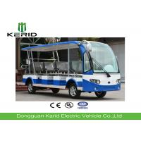 Buy cheap 11 Seater Electric Shuttle Car With Curtis Controller For Hotel Reception 72V / from wholesalers