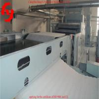 China Nonwoven Fiber Cross Lapper Machine 5000mm Light Weight Rollers wholesale