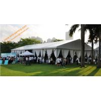 China Temporary Rental Guangzhou Wedding Tent for 500 People Aluminum Fireproof  Marquees wholesale