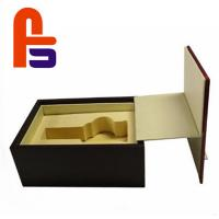 China Large Size Recyclable Materials For Packing Wine Foam Lined Cardboard Boxes on sale