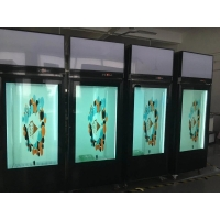 China 1920*1080 400cd/m2 Transparent LCD Panel 178º For Showcase wholesale
