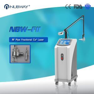 China Skin Resurfacing Co2 Fractional Laser Machine Humanized Software Control wholesale
