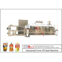 China Customize Horizontal Form Fill Seal Machine , Top Spout Pouch Packing Machine wholesale
