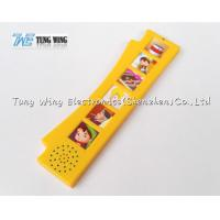China Orange Durable Button Sound Book Baby sound chips for cards wholesale