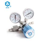 China 4000PSI N2o High Pressure Propane Regulator Single Stage CE Certification wholesale