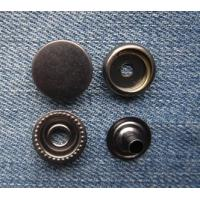 China Customized metal brass spring snap button, high quality press snap button for clothing on sale