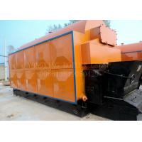 China Fire Tube Wood Burning Steam Powered Electric Generator 10t Compact Structure wholesale