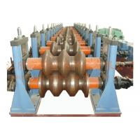China W Beam Highway Guardrail Roll Forming Equipment 8-15m/Min PLC Control 3 Waves wholesale