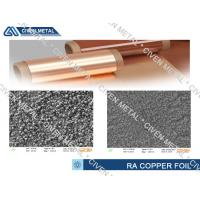China Cu - ETP Grade Pure Copper Foil For FCCL , Treated Surface Copper Foiling wholesale