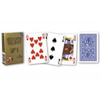 China Plastic Gambling Props 4 Regular Index Modiano Golden Trophy Playing Cards wholesale