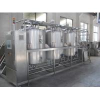China Fully Automatic CIP Cleaning System / CIP Washing Equipment for Fresh Milk Plant on sale