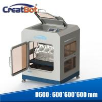 China 0.05mm Max Resolution CreatBot 3D Printer Dual Extruders Full Enclosed Metal Chamber wholesale