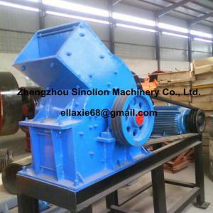China Diesel engine small mini portable laboratory lab stone rock ore pebble gravle hammer crusher mill wholesale