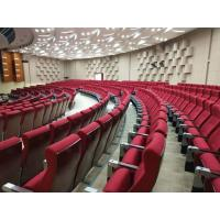 China Cushion Folding Theater Seats With Strong Aluminum Feet / Audience Seating Chairs wholesale