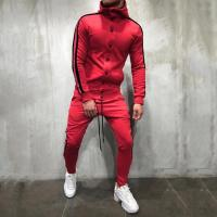 China Custom Autumn Fashion Mens Tracksuit Set / Sportswear Hoodies Set for Men on sale