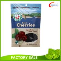 China Dried Healthy Gouji Berries packaging Pouch , Bottom Gusset Ziplock Bags wholesale