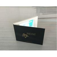 China CMYK Printing Digital Lcd Video Brochure With Magnetic Switch / Light Sensor wholesale
