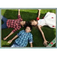 Buy cheap High Resilience / Skid Resistant Landscaping Synthetic Grass With 12000 Dtex from wholesalers