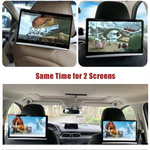 """China 12.5"""" 1920x1080 Android 9.0 Car Headrest Monitor PX5 Octa Core wholesale"""
