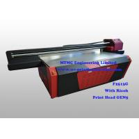 China Ricoh GEN5 Head UV Industrial Printing Equipment For Package / Fridge wholesale