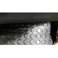China Tactile Rubber Mats Paving Round Stud Anti - Skid Round Stud Rubber Floor Matting on sale