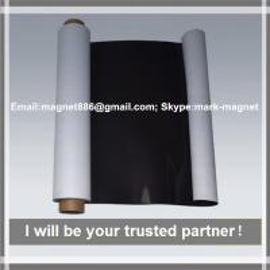 FFerrite magnet;Permanent magnet;0.4/0.5/0.75/1mm thickness;Magnetic sheet; Flexible rubber magnet plain