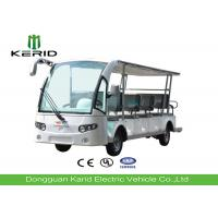 Buy cheap Low Noise Electric Sightseeing Car 14 Person , Multi Passenger Electric Tour Bus from wholesalers
