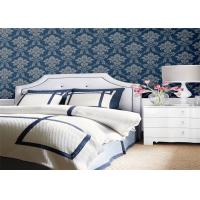 China Interior Design Embossed Floral Wallpaper Home Decoration For House Wall wholesale