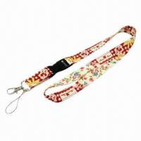 China Heat-transfer Lanyard, Various Colors are Available wholesale