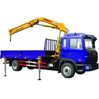 China Durable 11meters Truck Mounted Crane 6.3T Used  for Lifting Construction Materials wholesale