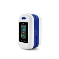 China Pulse Oximeter Fingertip OLED Display Blood Oxygen Monitor Portable Spo2 Monitor Double color display on sale