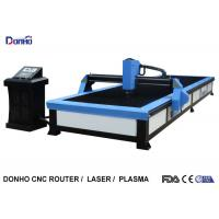 China Start Control CNC Plasma Cutting Table , Plasma Cutting Equipment For Stainless Steel wholesale