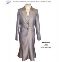 China ladies business suit design lady business skirt suits on sale
