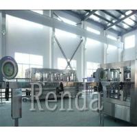 Buy cheap High Efficiency Carbonated Drink Filling Machine Water/Gas/CO2 Washing Filling from wholesalers