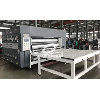 Buy cheap Chain Type 2 Color Printer Slotter Machine For Corrugated Carton Box from wholesalers