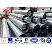 Buy cheap 15M Transmission Line Galvanized Steel Pole With Third Party Certificate from wholesalers