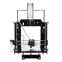 High Printing Accuracy Mini PLA / ABS Filament DIY 3D Printers with Installation Tools