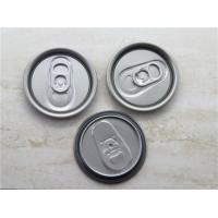 China Safe rim Aluminum Easy Open Lid For beverage pop can , tinplate ends wholesale