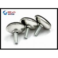 China Iron Minifix Furniture Fittings Hardware M6*14mm Round Leg For Adjustbale Sofa Feet wholesale