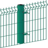 Buy cheap Green 3D Welded Curved Panel Welded Wire Fence Triangle Bending Eco Friendly from wholesalers