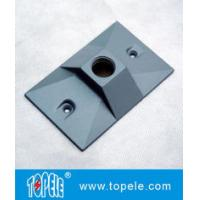 China Three Holes Electrical Weatherproof Rectangular Covers Aluminum Gaskets & Screws wholesale
