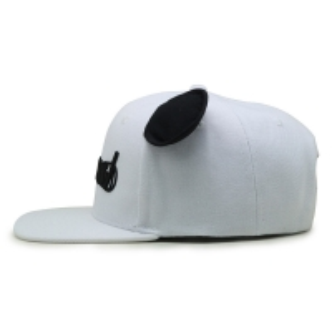 China 58cm Flat Embroidery Logo Gorras Baseball Hats Custom Snapback Hats With Ox Ear wholesale