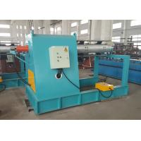 China Electric Roll Forming Machine Parts / Single Mandrel Hydraulic Decoiler With Support Frame wholesale