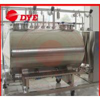 China SUS304 / SUS316 Cip Clean In Place Equipment 100MM Insulation Thickness wholesale
