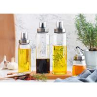 Buy cheap High Borosilicate Decorative Glass Oil Bottles For Kitchen And Desk Use from wholesalers