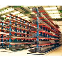 Warehouse Structural Cantilever Shelves , Steel Cantilever Pipe Rack