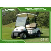 Excar Trojan Battery 2 Seater Used Electric Golf Carts 48v